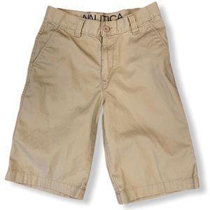 Nautica Boys Khaki Shorts Size 14
